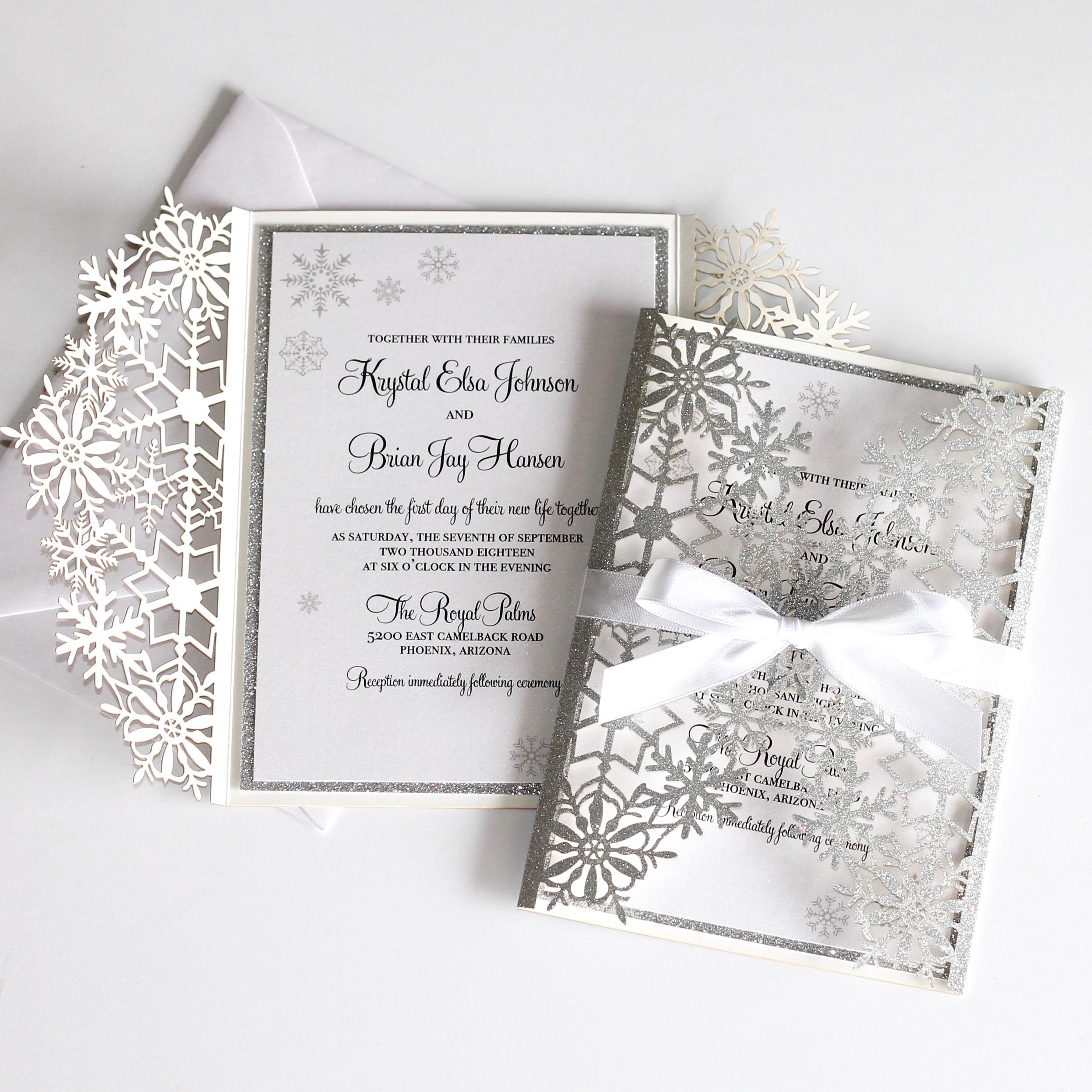Wedding Laser Cut Invitations: IMG_5886